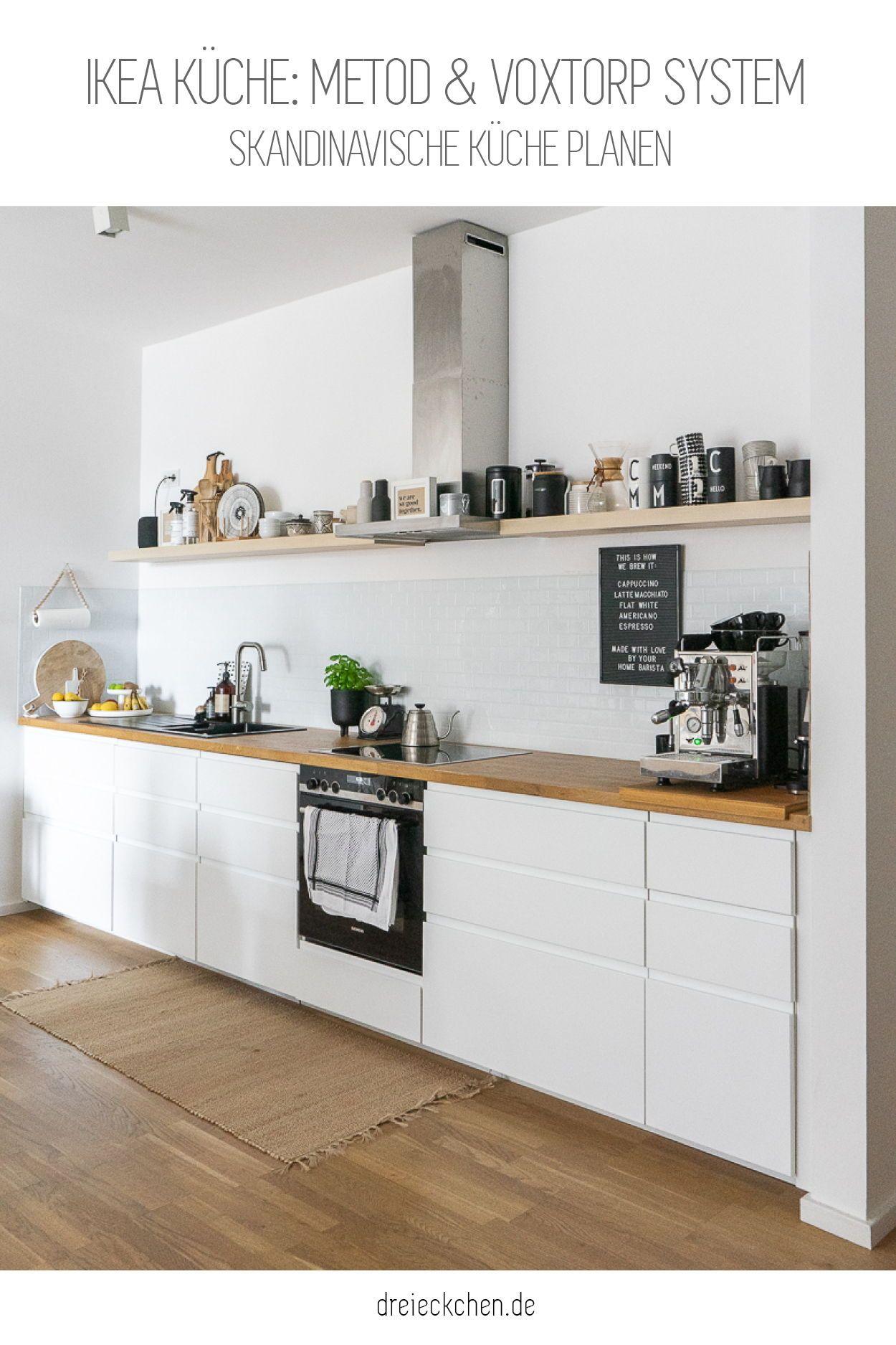 IKEA Küche planen und aufbauen: Metod und Voxtorp System | Ikea küche,  Innenarchitektur küche, Haus küchen