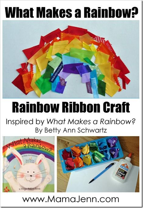 What Makes A Rainbow Book Related Crafts