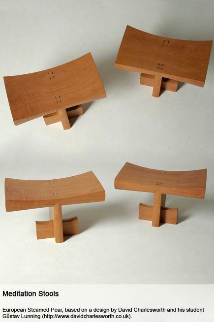 Jessica Horder Furniture Meditation Stool Zen Furniture Bench Furniture
