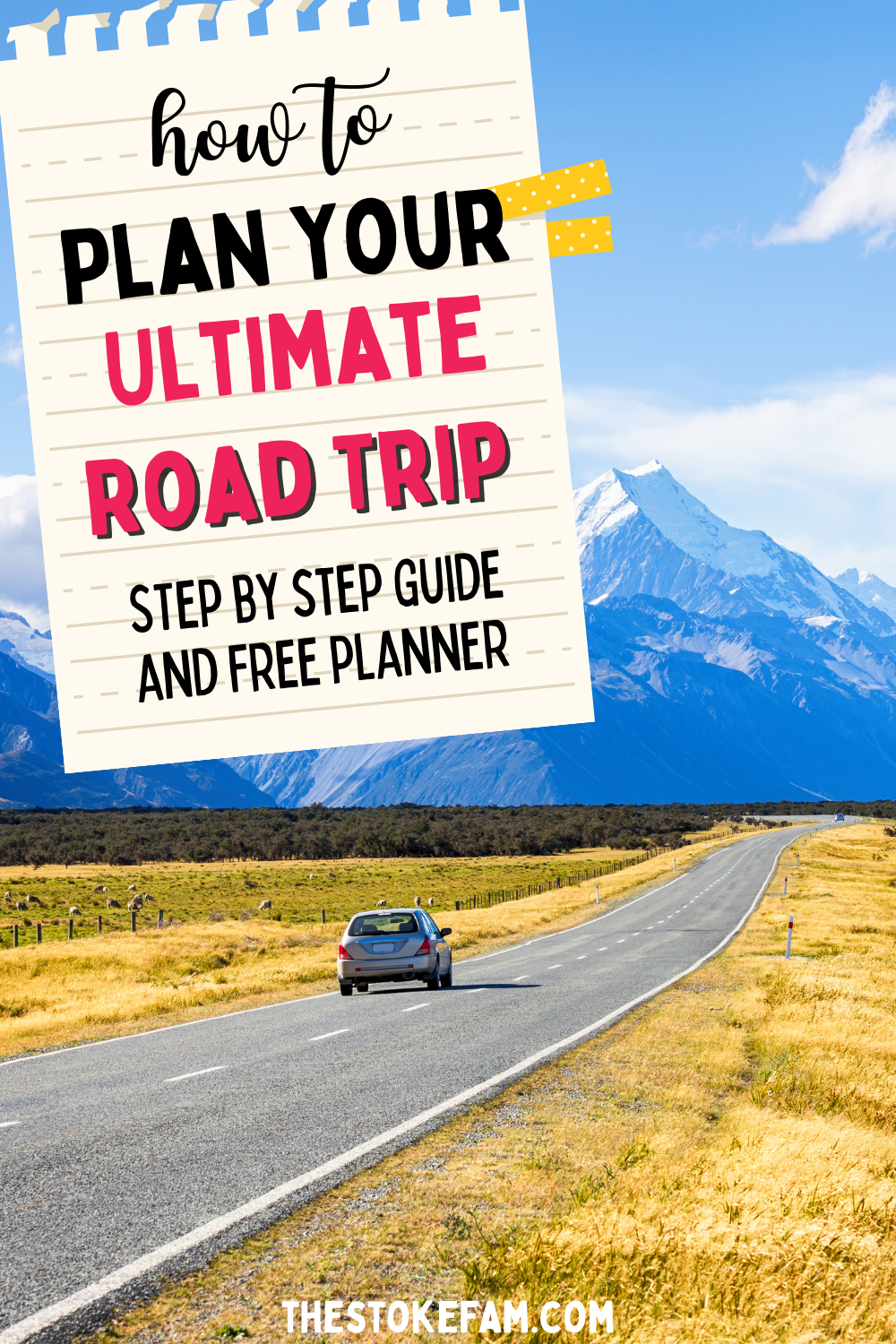How To Plan A Road Trip Road Trip Planning Road Trip Perfect Road Trip