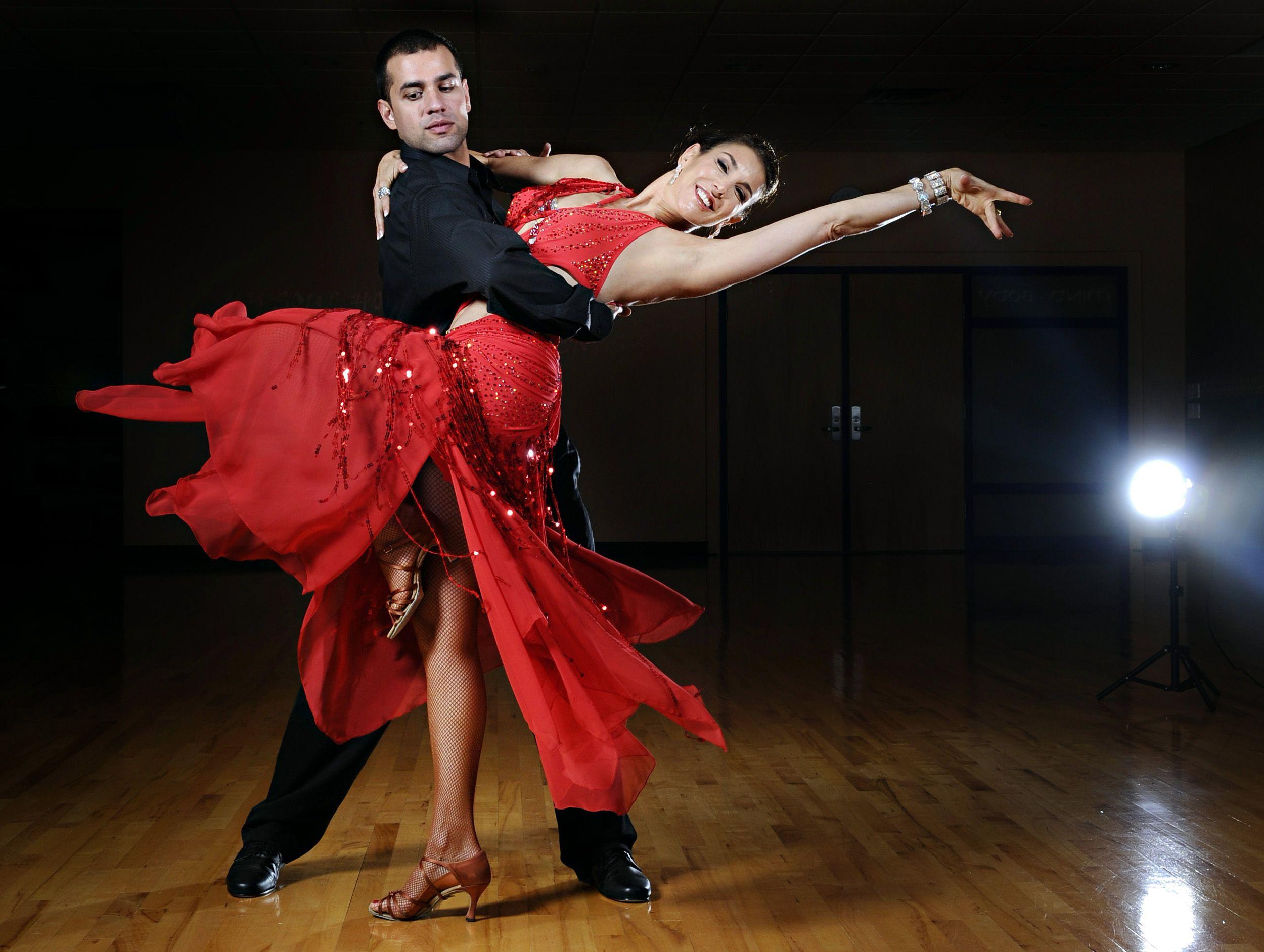 Ballroomdancing there is a large increase in ballroom