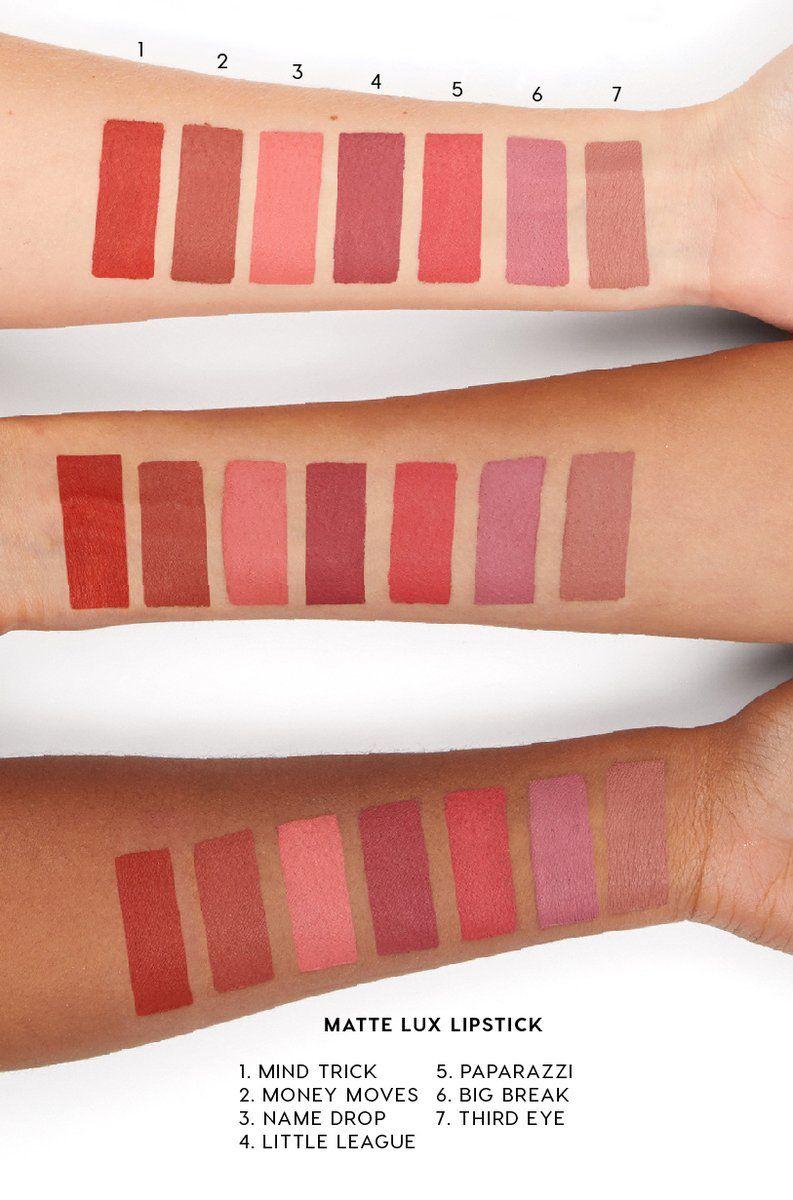 Colourpop Lux Liquid Lip : colourpop, liquid, Money, Moves, Lipstick, ColourPop, Colourpop, Liquid, Swatches,, Collection