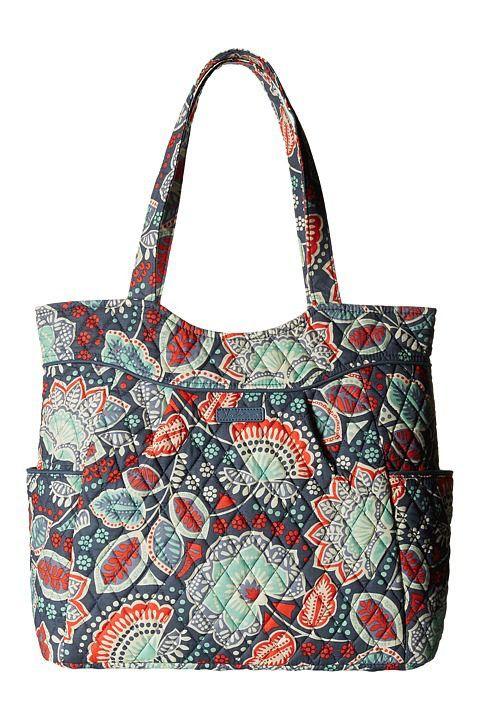 f7adc43222 Vera Bradley Pleated Tote (Nomadic Floral) Tote Handbags - Vera Bradley