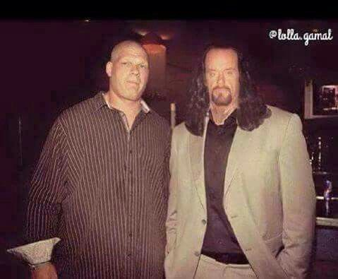 Undertaker And Kane In Real Life Brothers of des...