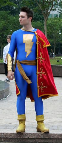 Cosplay Shazam Captain Marvel Jr Captain Marvel Jr Cosplay
