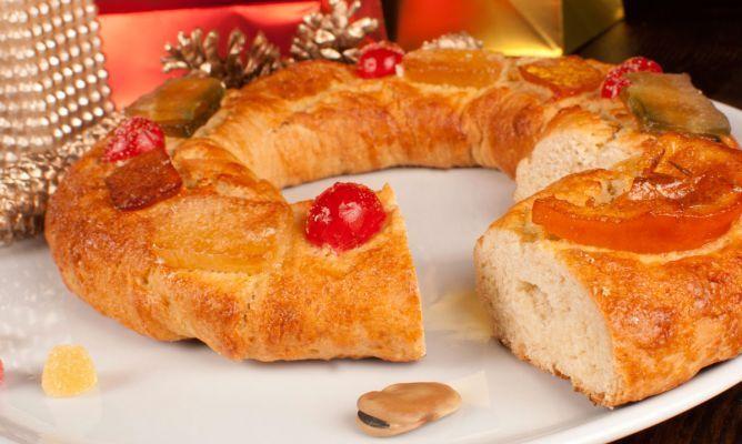 Roscón de Reyes sin huevos ni leche   #Recetas de cocina   #Veganas - Vegetarianas ecoagricultor.com: