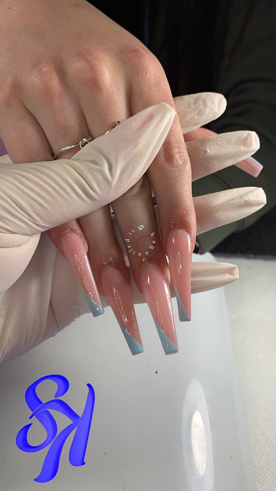 Pin On Aycrlic Nails
