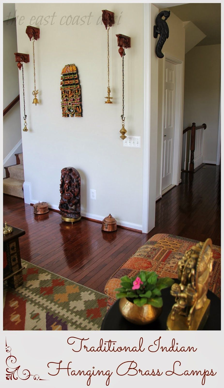 the east coast desi: My Living Room a reflection of INDIA - Diwali ...