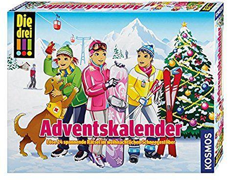 Kosmos 631185 Die Drei Adventskalender 2016 Lose 24 Spannende Ratsel Im Weihnachtlichen Schneegestober Adventskalender Advent Und Kalender