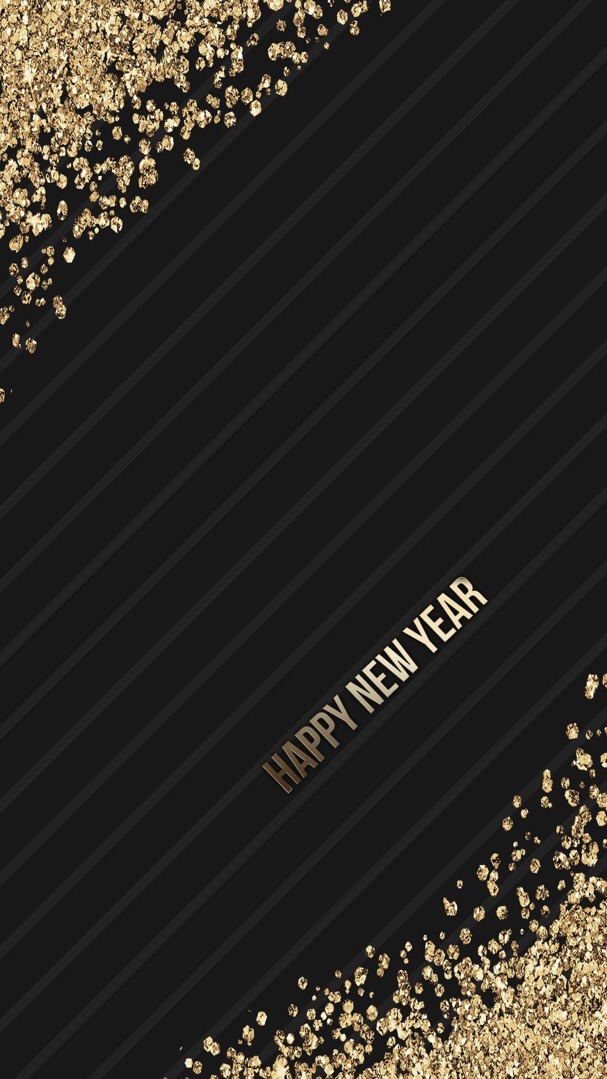 black, gold, glitter, wallpaper, background, iphone