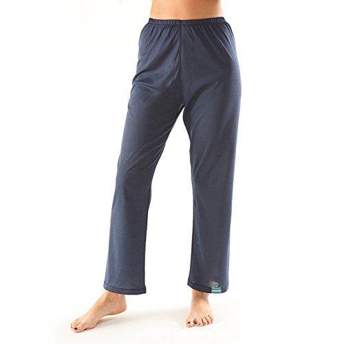 awesome Tepso® Damen Hose Comfort-Blau-S gegen Psoriasis / Schuppenflechte  und Neurodermitis