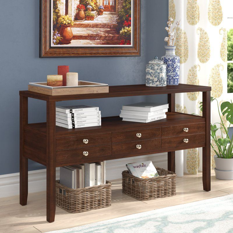 Three Posts Millville Console Table & Reviews Wayfair
