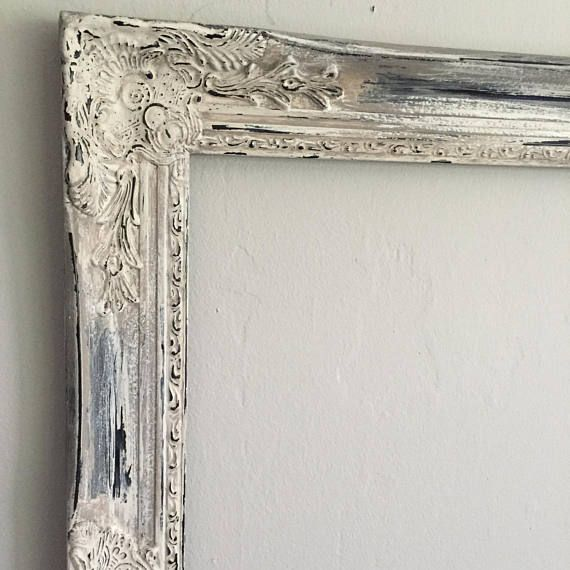 Distressed Frame Shabby Chic Frame Photo Prop Wedding   Wall art ...