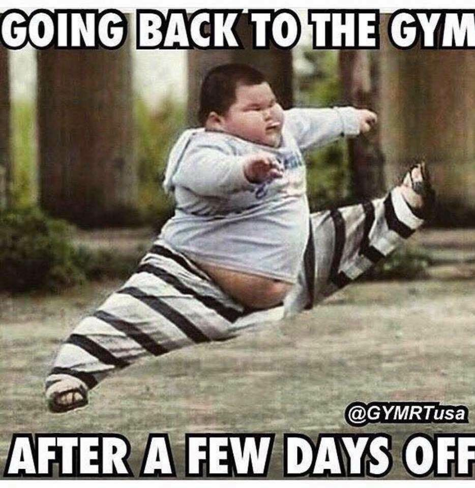 So When After Taking A A Week Off Of The Gym Lol Workout Memes Funny Workout Memes Gym Humor