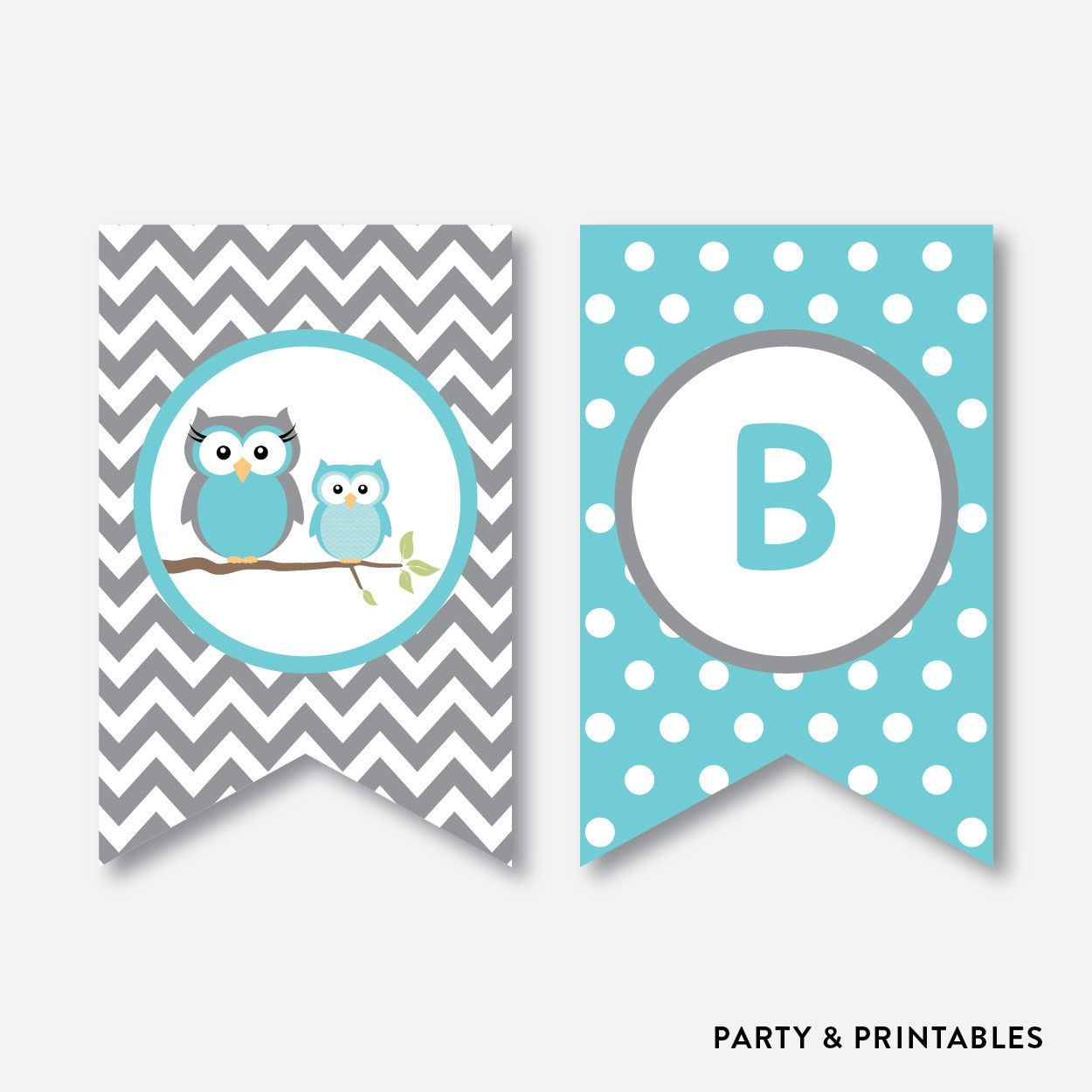 Personalized Elephant Baby Shower Banner