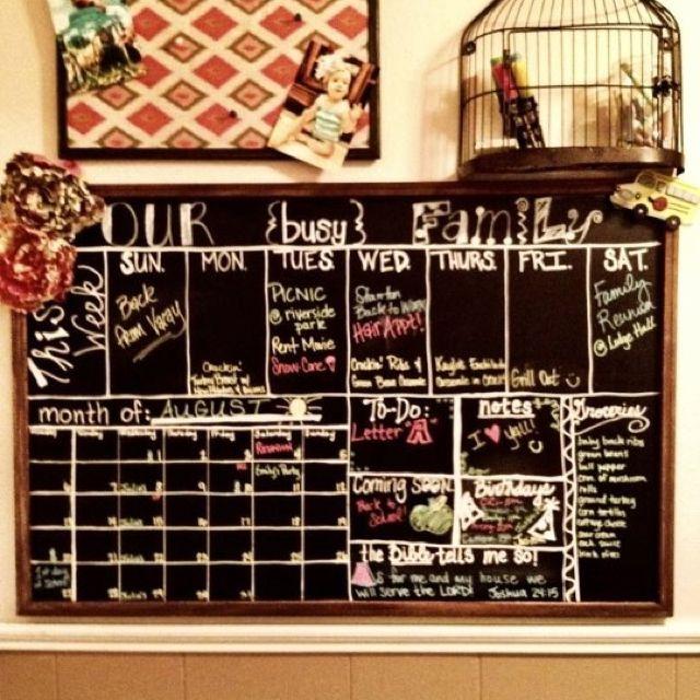 die besten 25 organisations station ideen auf pinterest familienkalender wand. Black Bedroom Furniture Sets. Home Design Ideas