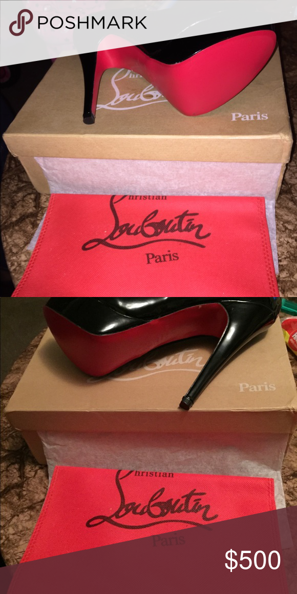 newest f0d92 39ce4 Christian Louboutin Red Bottom Heels Red Bottoms never worn ...