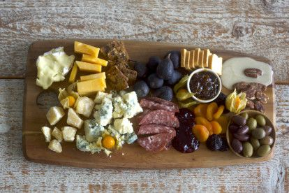 The Perfect Autumnal Cheese Board