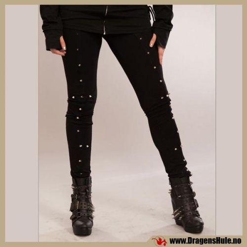 En tettsittende leggings / bukse med svært god strekk.  Materiale: Laget i 95% bomull og 5% lycra.