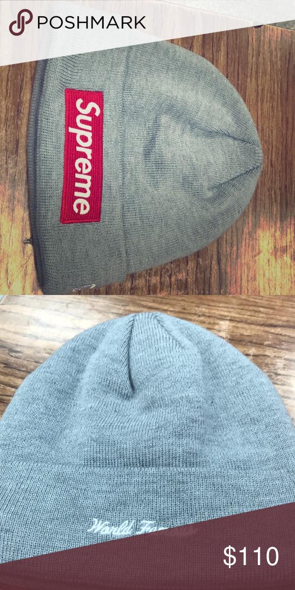 17bdbfaf7ce2b supreme box logo beanie i ve only tried it on