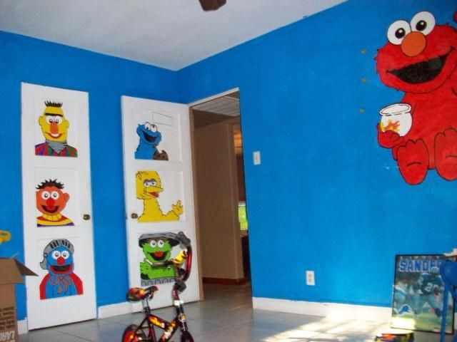 Pin By Diana Zuniga On For Kids Elmo Bedroom Kid Room Decor Baby Room Decor