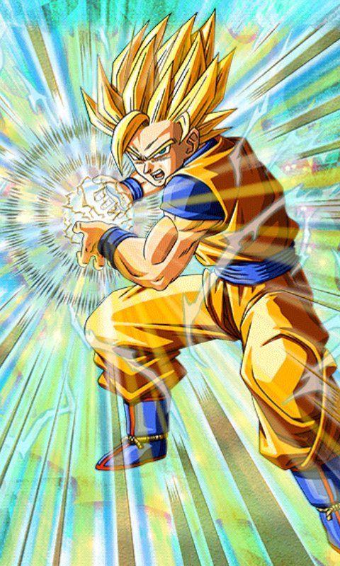 Unlimited Power Super Saiyan 2 Goku Dragon Ball Z Dokkan Battle