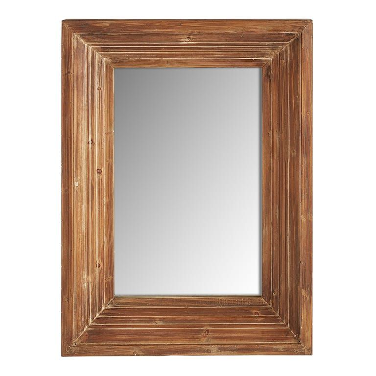 Bailey Farmhouse Natural 30x40 Mirror in 2020 Mirror
