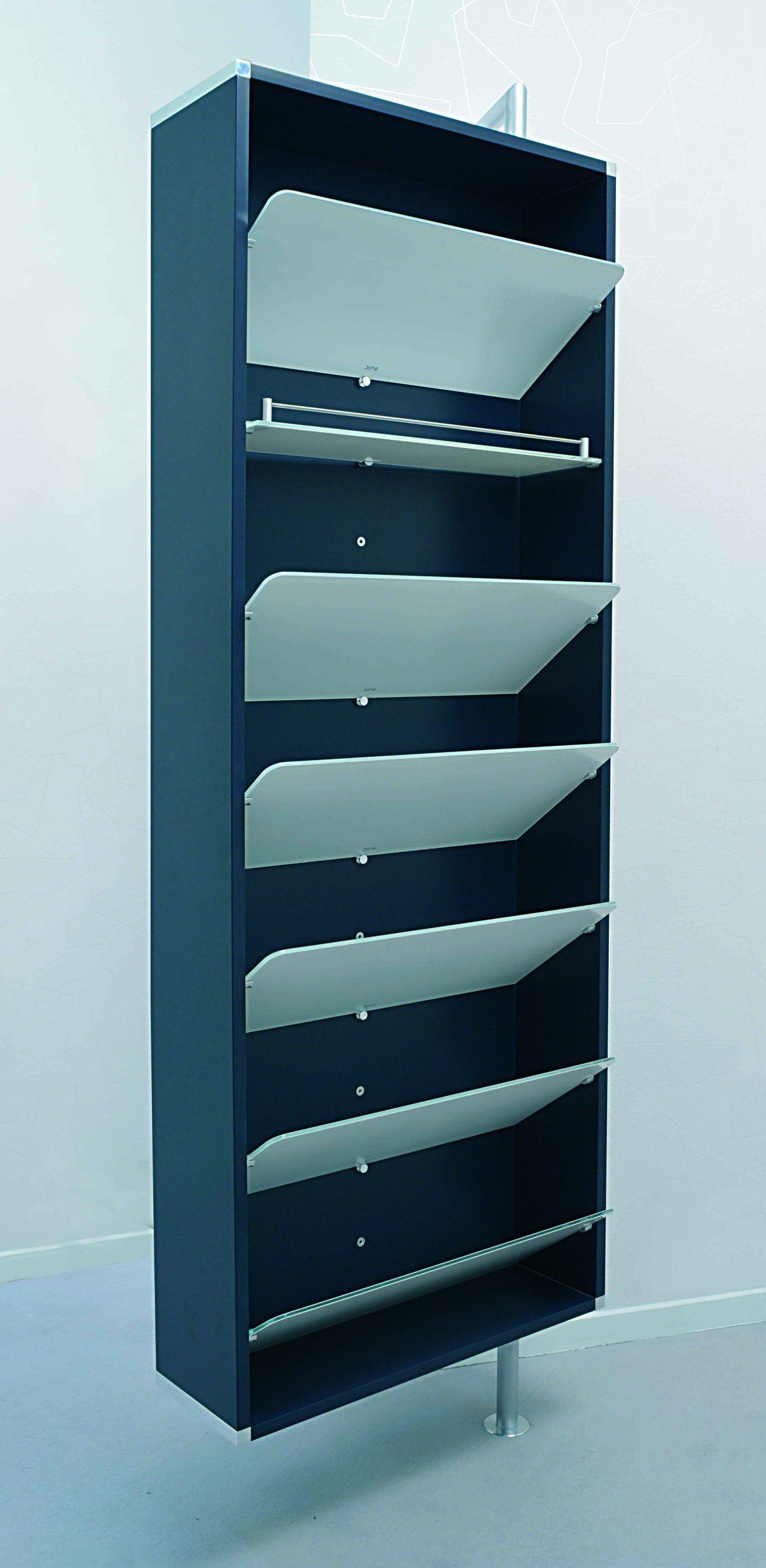 Moderner Schuhschrank Und Wandgarderobe Drehbar Und Im