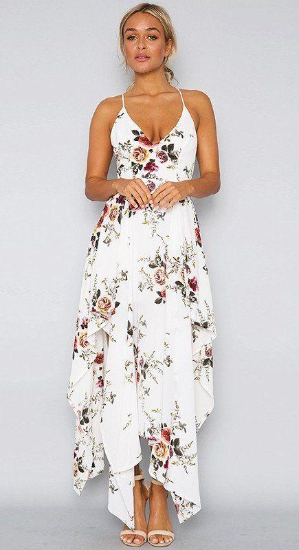 1eb3310894f4a1  Morgan  Floral Sleeveless Cross Back Sundress - 6th   6th.