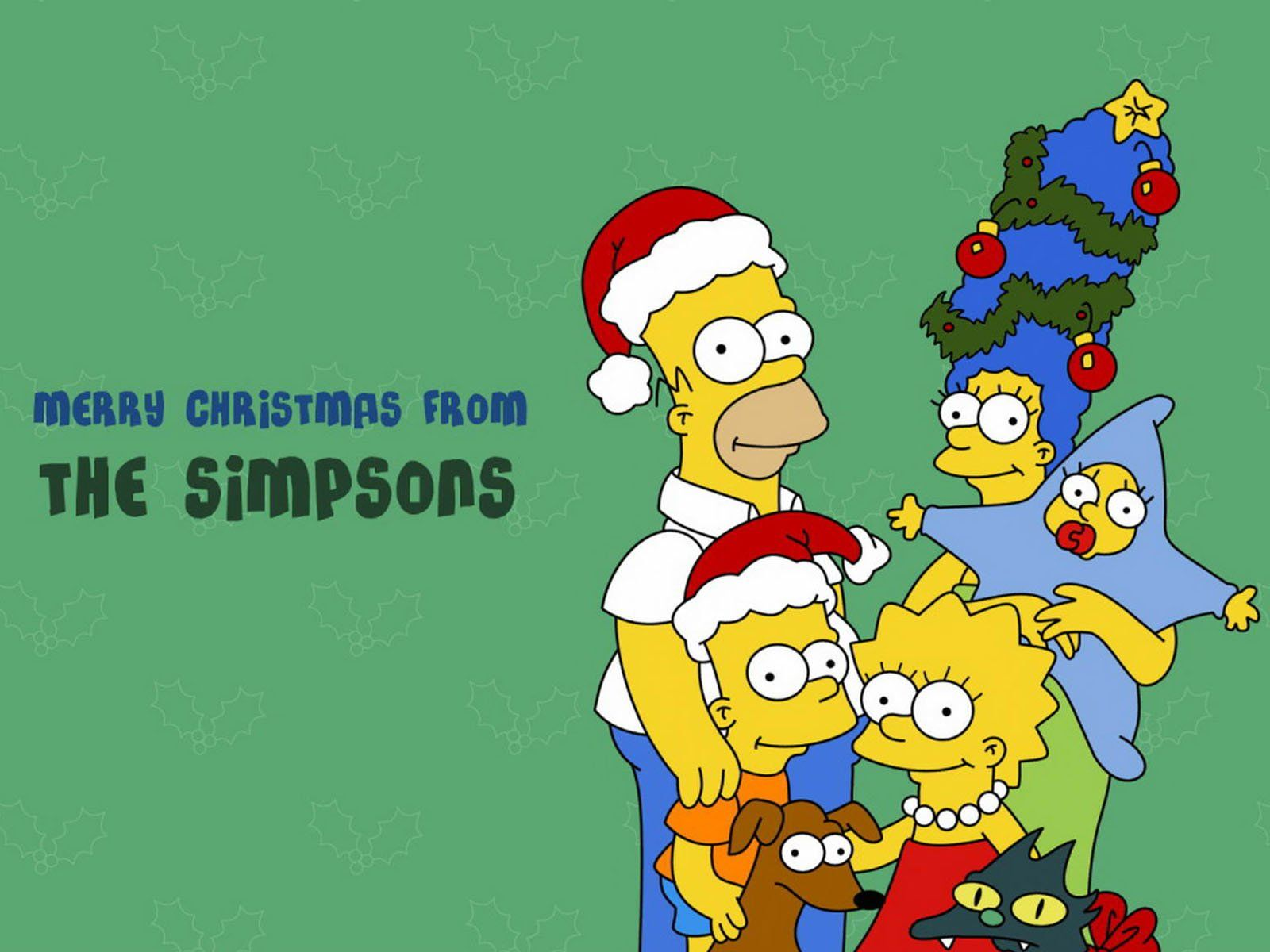 Christmas Simpsons.Pin On Books Worth Reading