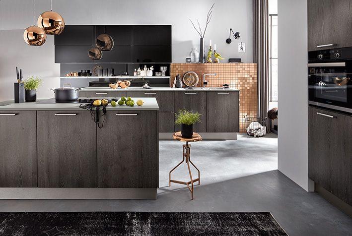 AV 5084 Alteiche-silber geport Produktlinie systemat #häckerküchen ...