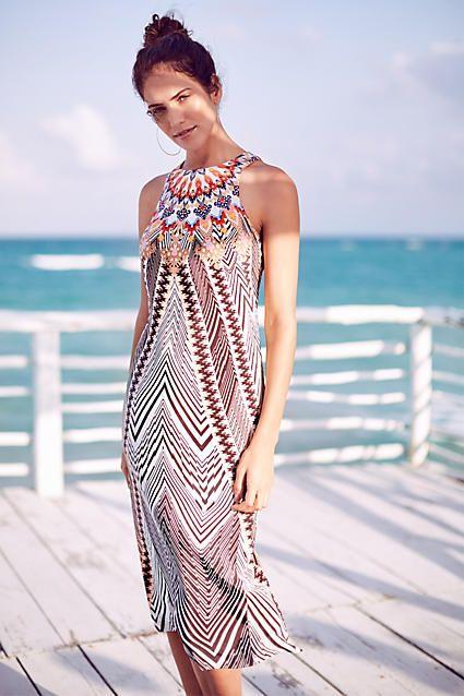 Solstice Silk Dress - anthropologie.com