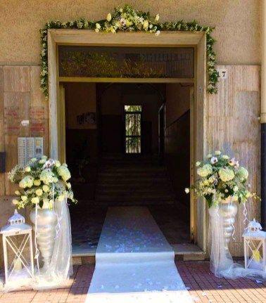 Decorazione Portone Casa Della Sposa Real Wedding Romantico E Shabby Chic Matrimonio Shabby Chic Idee Matrimonio Estivo Matrimonio