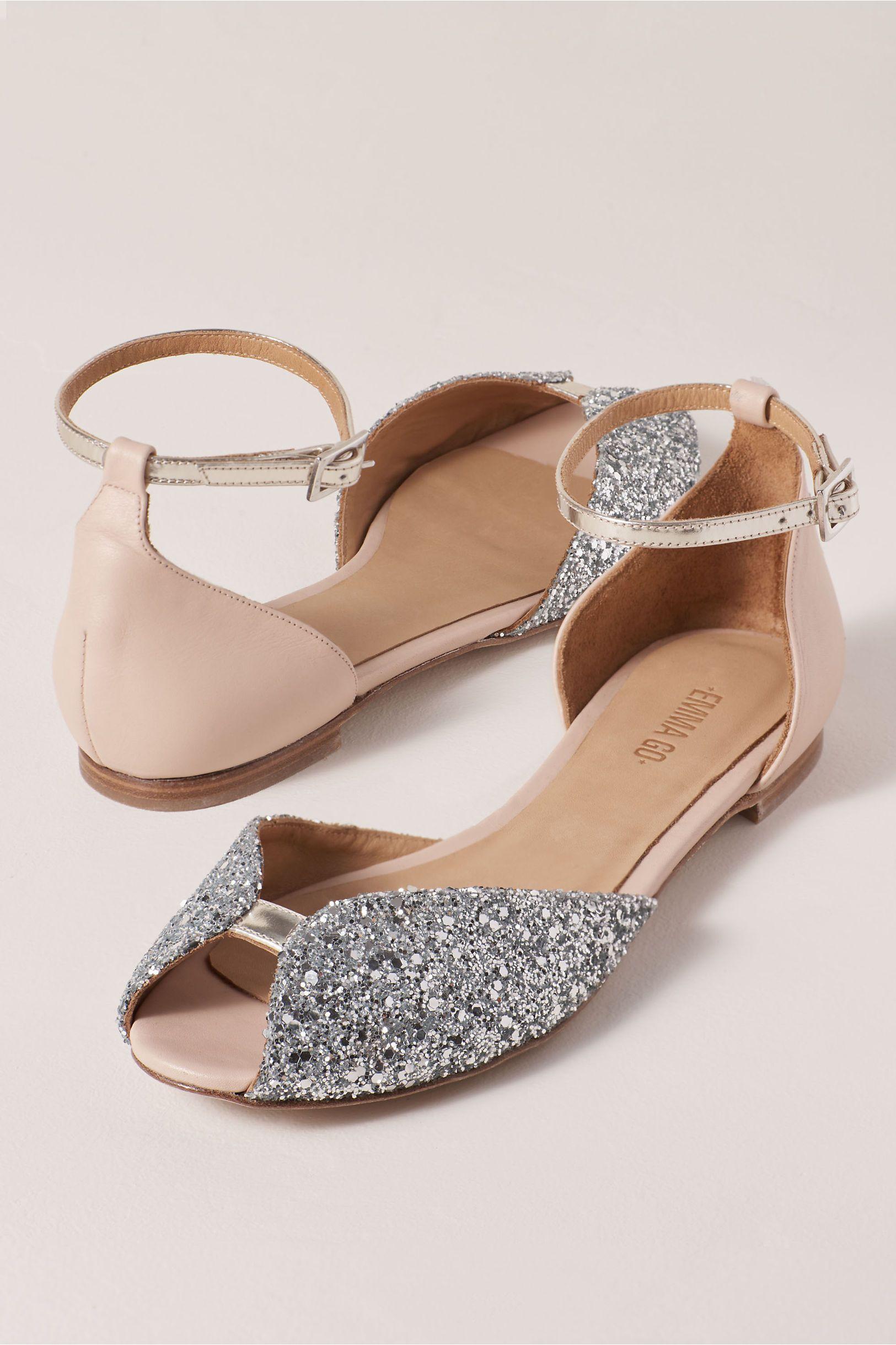 Emma Go Juliette Flats In Almond Size: 41 Eu   Bride shoes