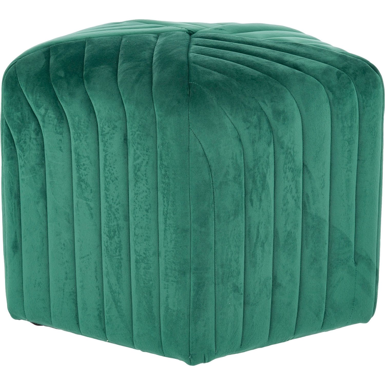 Fabulous Forest Green Velvet Stool 40X51Cm House Decoration Ideas Theyellowbook Wood Chair Design Ideas Theyellowbookinfo
