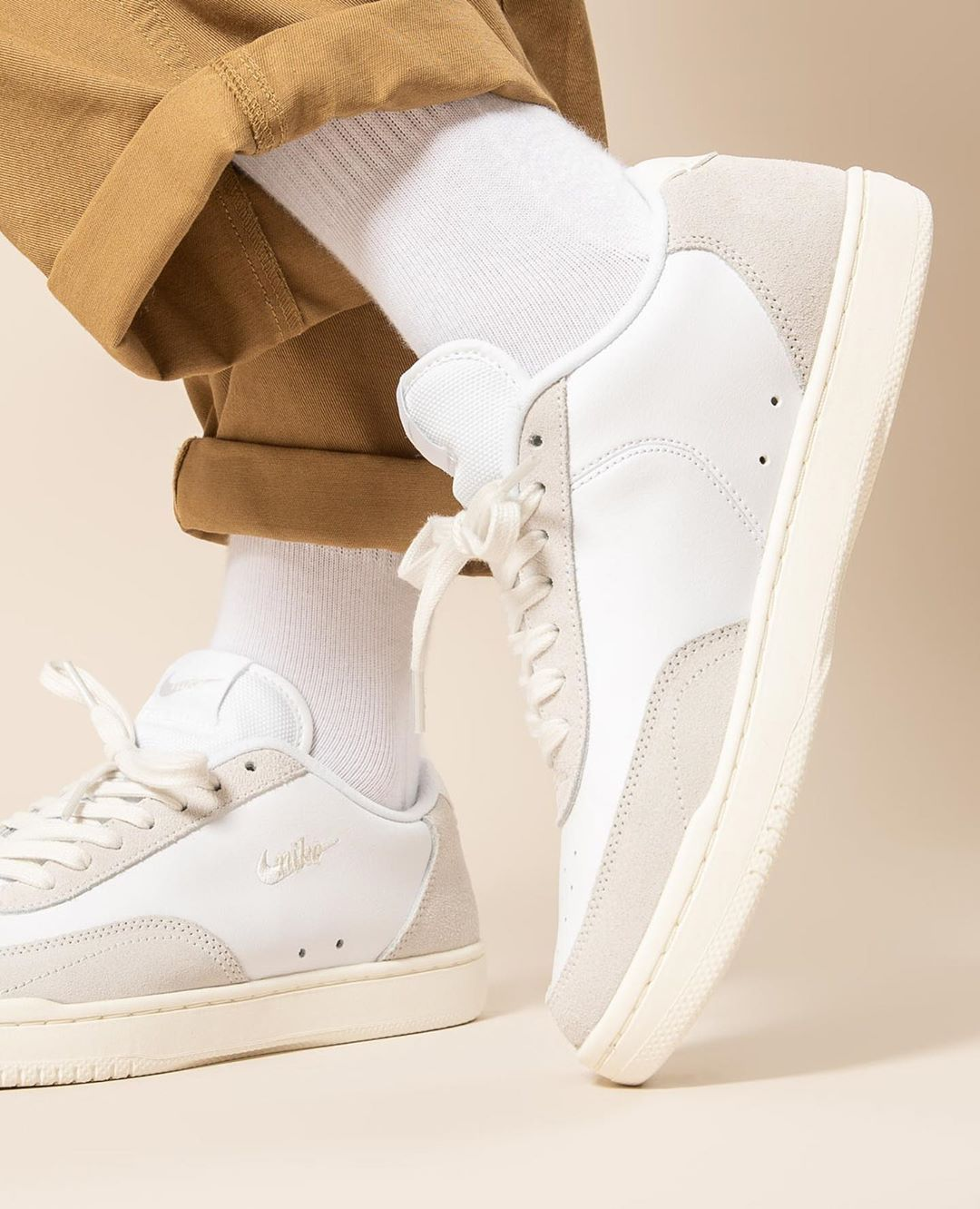 Titolo Sneaker Boutique On Instagram Embodying 80s Tennis At Its Best Laid Back And Stylish The Nike Court V In 2020 Sneaker Boutique Vintage Nike Sneakers