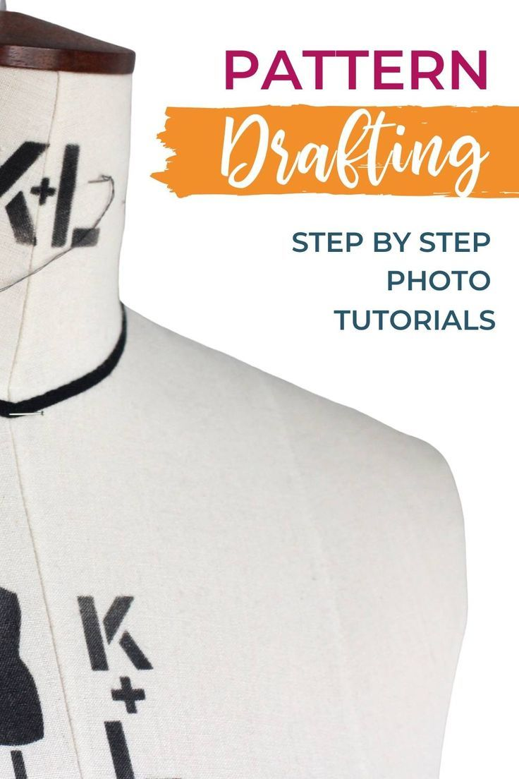 Photo of Draft your own blocks with the Pattern Making Basics course!