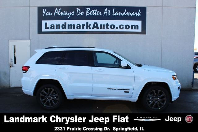 2017 Jeep Grand Cherokee Limited Suv White Jeep Landmarkjeep