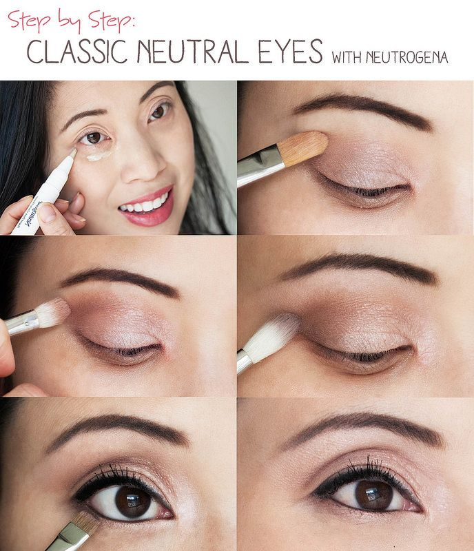Makeup Tutorial With Images Neutral Eye Makeup Neutral Eyes
