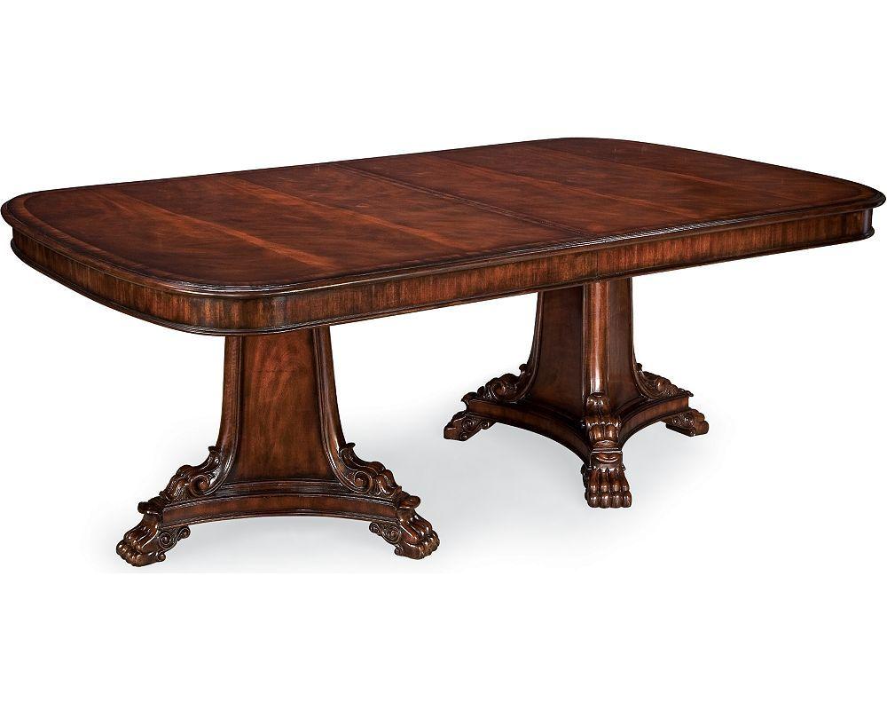 Pedestal Dining Table  Dining Room Furniture  Thomasville Delectable Thomasville Dining Room Table Design Inspiration