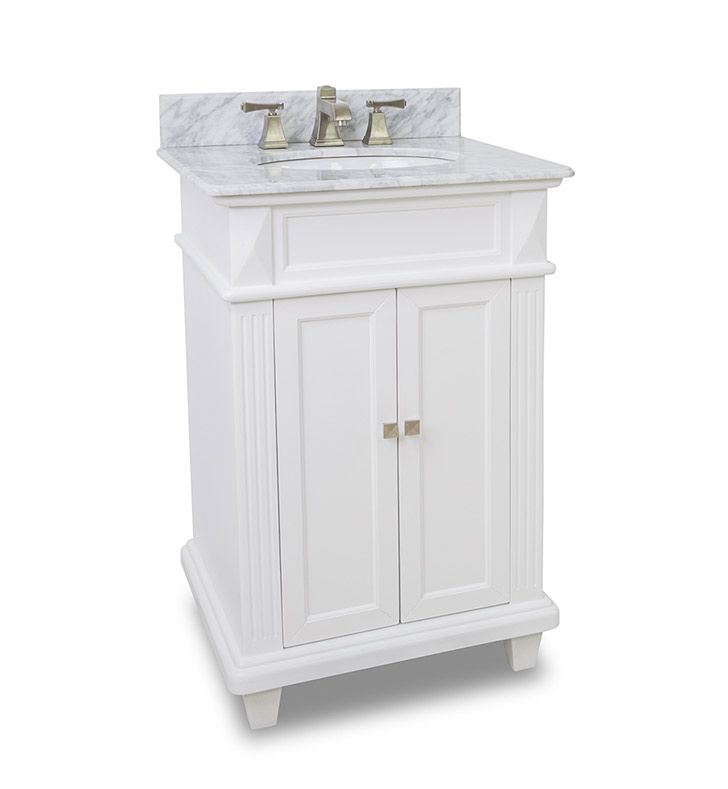 Elements 24 Inch Douglas Classic White Bathroom Vanity This Is 24