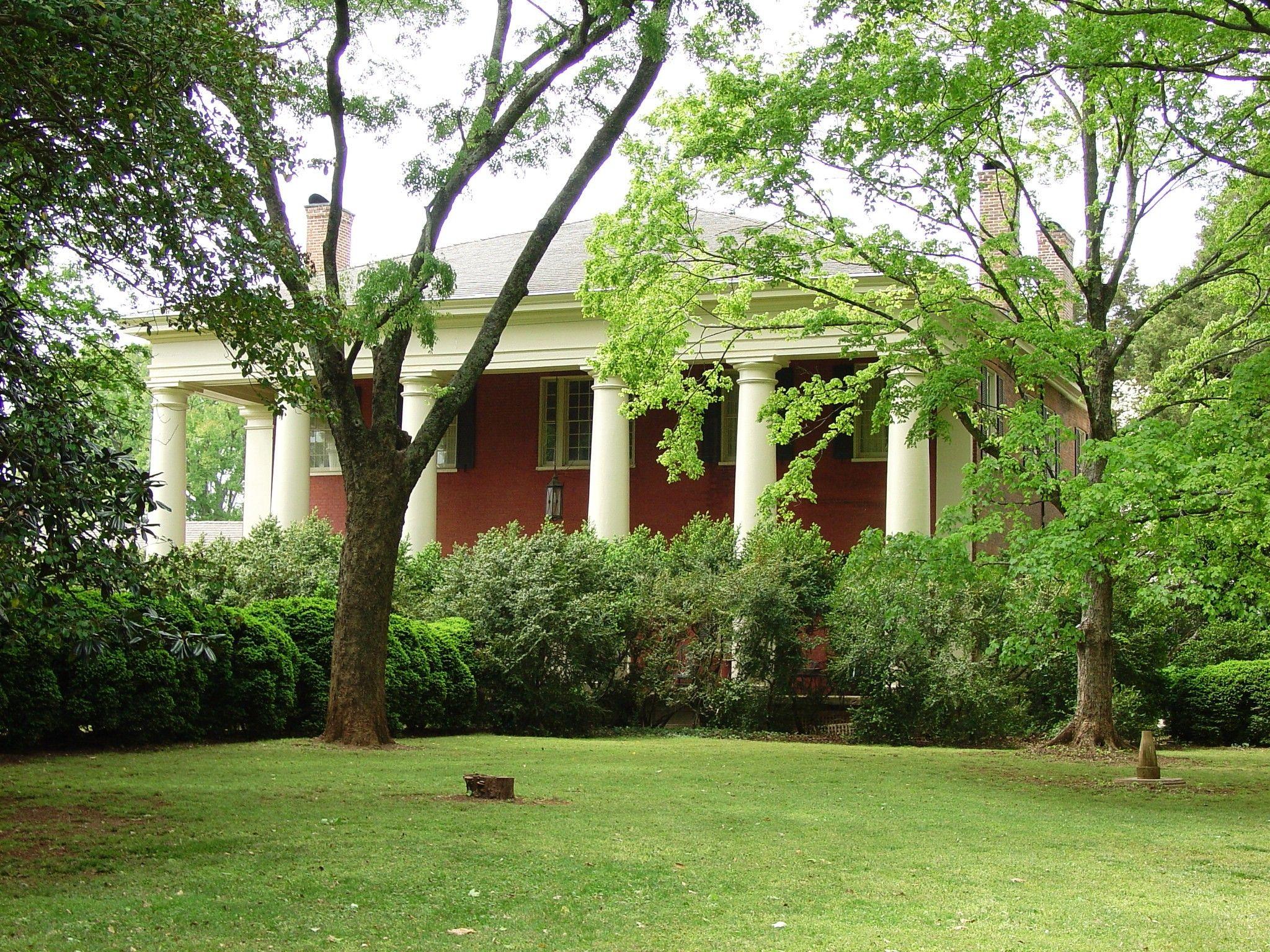 The historic home Govenor Thomas Bibb Belle Mina