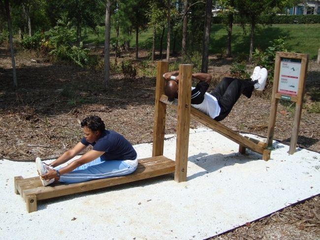 Fit Trail: 20 Station Fitness Trail Equipment