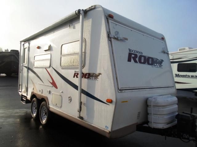 Used 2007 Rockwood Rv Roo Hybrid Travel Trailer For Sale In Wood