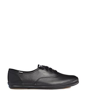 575ca324725b4 Keds Champion Core Black Leather Sneakers