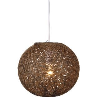 Buy living abaca 25cm ball light shade chocolate at argos buy living abaca 25cm ball light shade chocolate at argos aloadofball Images