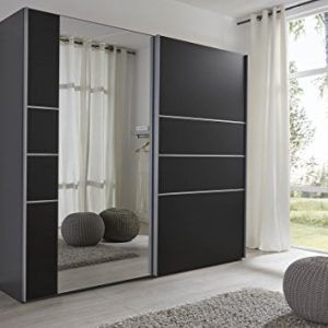 sliding door bedroom furniture. schlafzimmer neptune black sliding door wardrobe with mirror wide german made bedroom furniture prima e