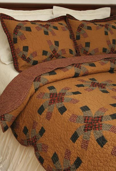 And if it's tea dyed. . . all the better! Warm, saturated colors ... : primitive quilting - Adamdwight.com