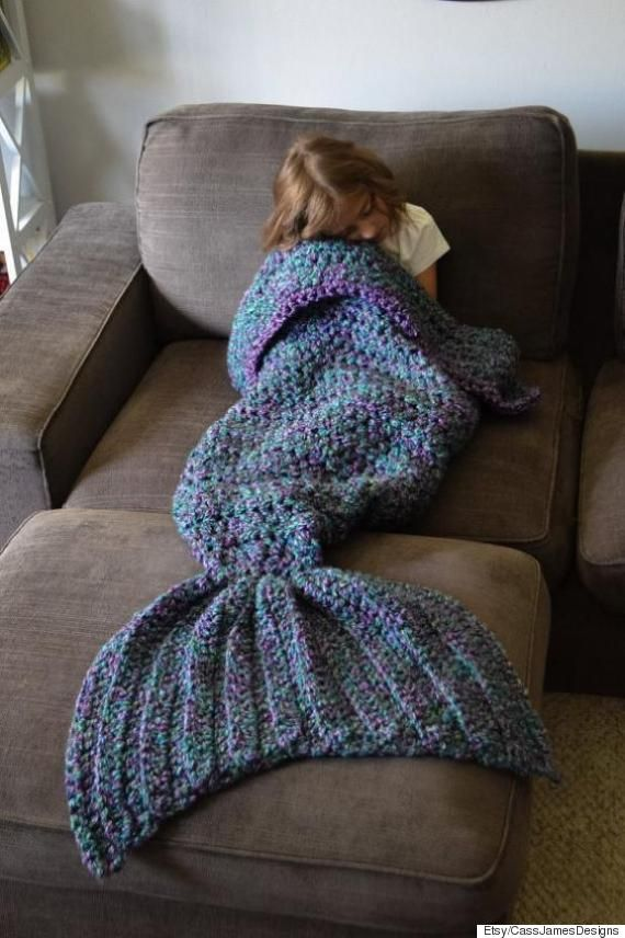 This Magical Blanket Will Turn You Into A Mermaid Projects To Try