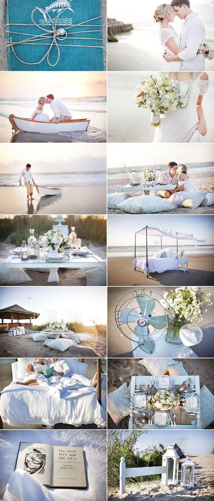 beach wedding ideas I just love all this but in my coral beige ...